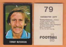 Coventry City Tommy Hutchison Scotland